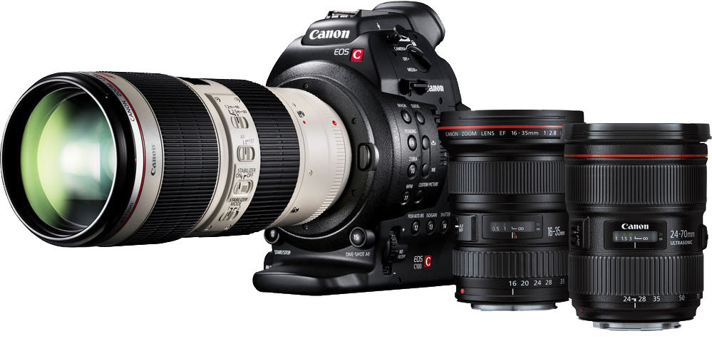 Canon EOS C100 MK II Camera with Dual Pixel CMOS AF