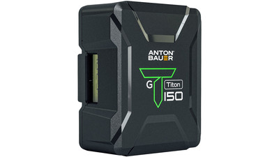 Anton/Bauer Titon 150 Lithium-ion Battery - Gold Mount