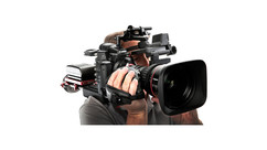 Canon EOS C300 Mk II Camera with 17-120mm CINE-SERVO T2.95 Zoom Lens and Zacuto ENG Kit