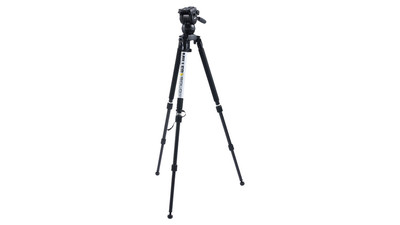 Miller CX6 Solo 75 2-Stage Alloy Tripod System - 75mm Ball
