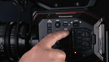 Intro image for article At the Bench: Panasonic EVA1
