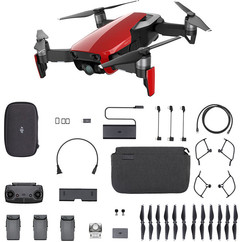 DJI Mavic Air Fly More Combo - Flame Red