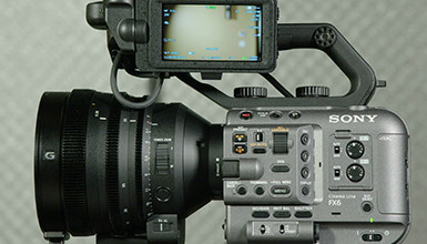 Intro image for article First Look: Sony FX6 Full-Format Digital Cinema Camera
