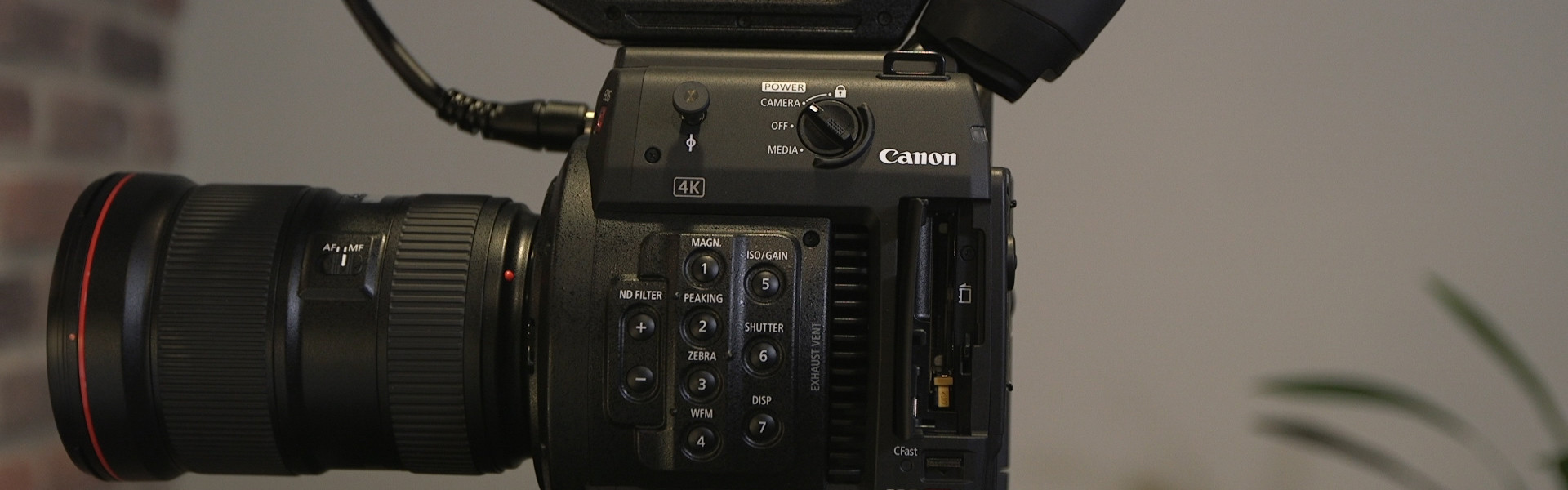 Header image for article First Look: Canon EOS C200