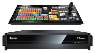 NewTek TriCaster TC1 Base Bundle (TC1 + TC1SP Control Panel)
