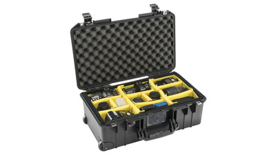 Pelican Air 1535WD Camera Case - Black (with Dividers)