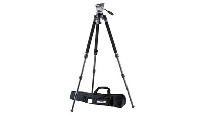CLEARANCE: Miller 1640 Solo DS10 2-Stage Tripod System - 75mm Ball