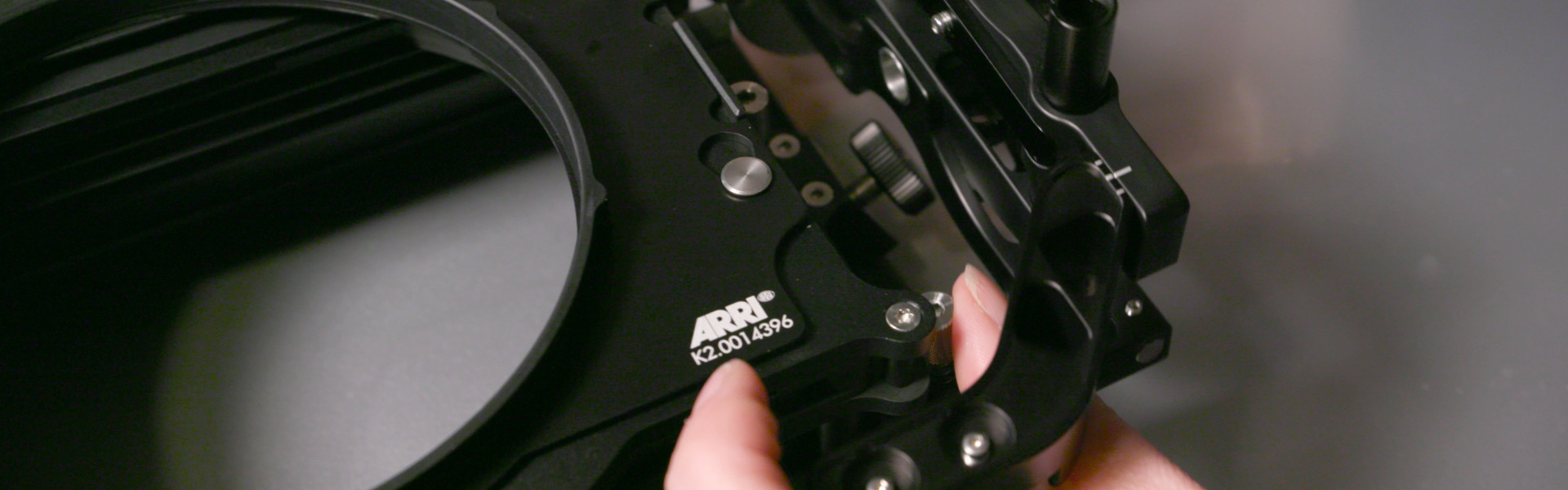 Header image for article At the Bench: A Closer Look at ARRI's Lightweight Matteboxes