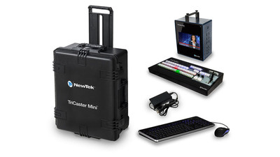 NewTek TriCaster Mini HD-4i Bundle with Control Surface & Case