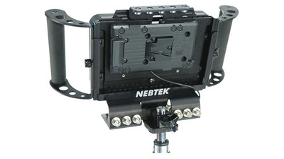 Nebtek Odyssey7 Power Bracket & Cage - V-Mount (IDX)