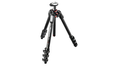 Manfrotto 055 Carbon Fiber 4-Stage Photo Tripod