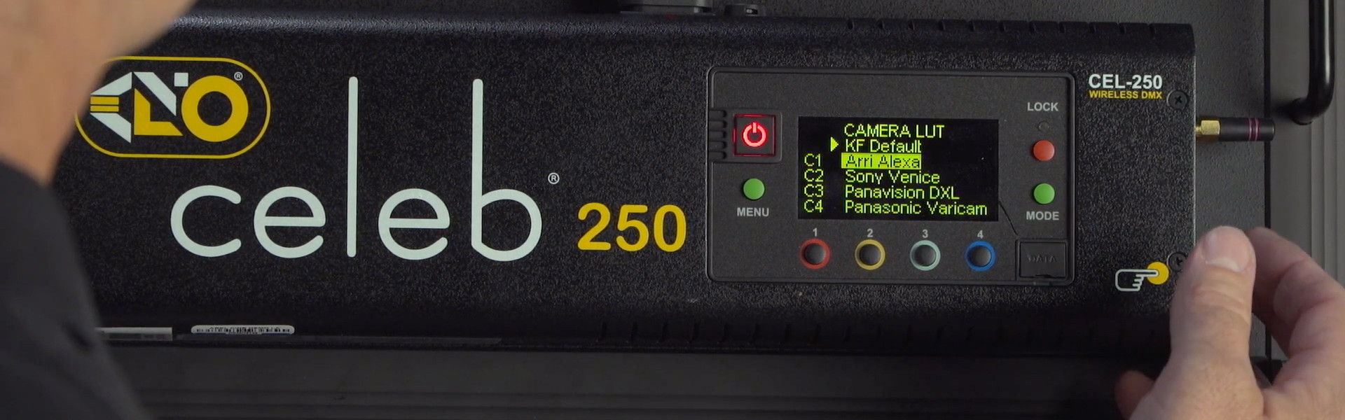 Header image for article At the Bench: Kino Flo's True Match® Firmware
