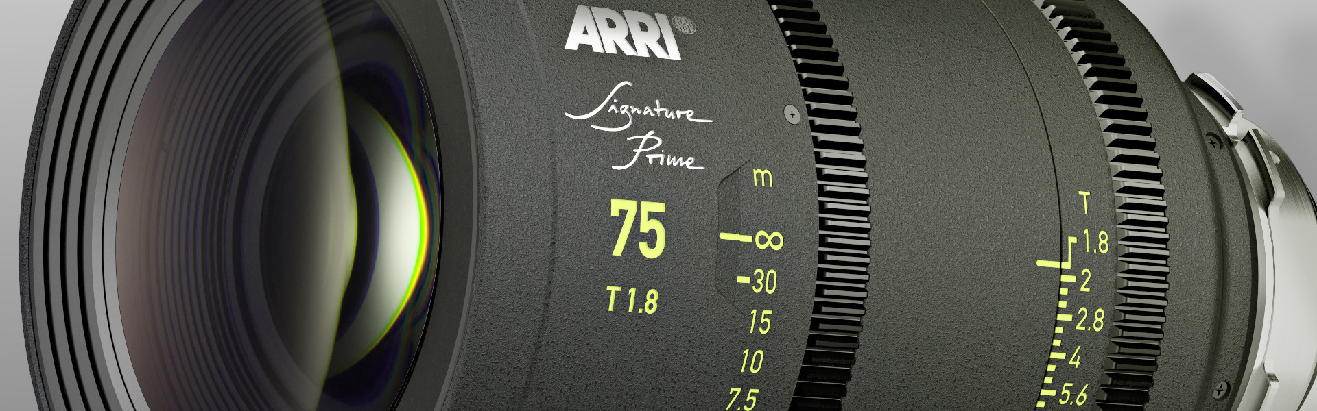Header image for article ARRI Signature Primes Complement Full Format Cameras