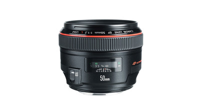 Canon 50mm f/1.2 L-Series USM Telephoto Prime Lens - EF Mount