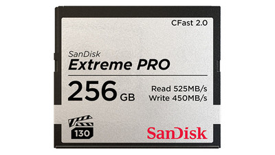 SanDisk Extreme PRO CFast 2.0 Memory Card - 256GB (Compatible with Arri, Canon, and BlackMagic)