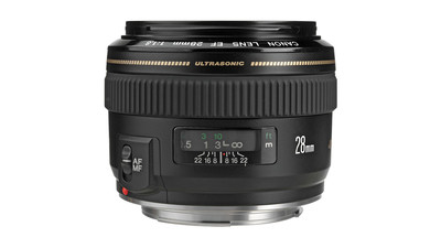 Canon 28mm USM Wide Angle Prime f/1.8 - EF Mount