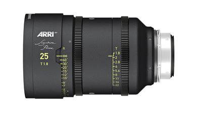 ARRI 25mm Signature Prime T1.8 - LPL Mount