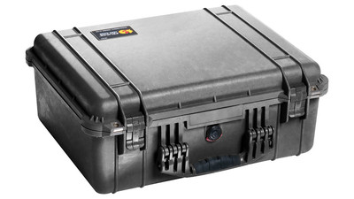 Pelican 1550 Medium Case without Foam - Black