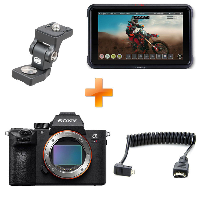 Sony a7 III + Atomos Ninja V Cinema Kit | DSLR / Mirrorless
