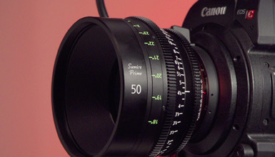 Intro image for article First Look: Canon Sumire PL Prime Lenses