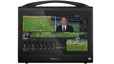 Livestream Studio HD550 4K Portable All-in-One Live Production Switcher