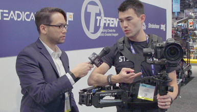 Intro image for article NAB 2019: Tiffen Steadicam Steadimate-S