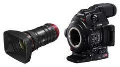 Canon Cinema EOS C100 MK II Camera and 18-80mm T4.4 Compact Servo Zoom Lens Bundle