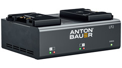 Anton/Bauer LP2 Simultaneous Dual Charger - Gold Mount