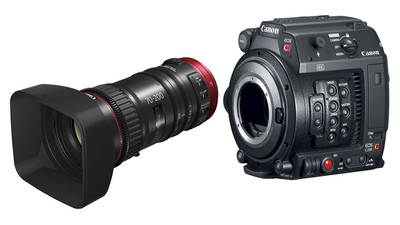 Canon C200B Camera and 70-200 Bundle