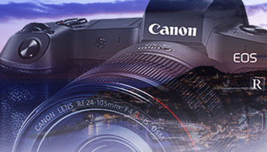Intro image for article Canon Debuts EOS-R Full Format Interchangeable Lens Mirrorless Camera System