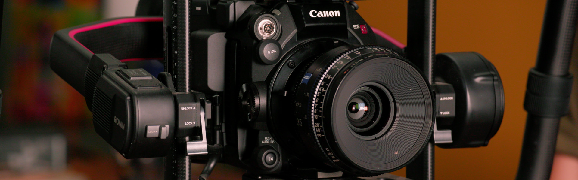 Header image for article At the Bench: Configuring the Canon C500 Mk II Camera