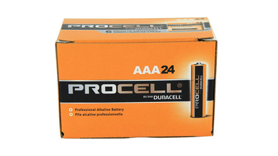 Duracell Procell AAA 1.5V Alkaline Battery (24-Pack)