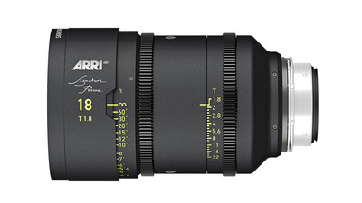 ARRI 18mm Signature Prime T1.8 - LPL Mount