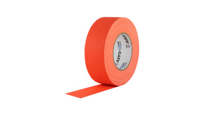 "Camera Tape - 1"", Fluorescent Orange"