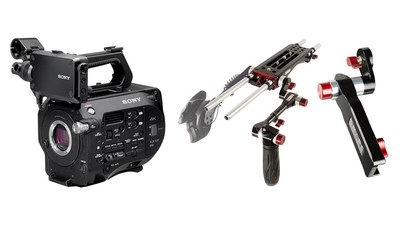 Sony PXW-FS7 Mark II & SHAPE Rig with Remote Extension Handle Bundle