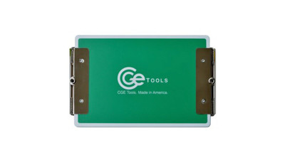 CGE Tools Double-Clip Clipboard - Green