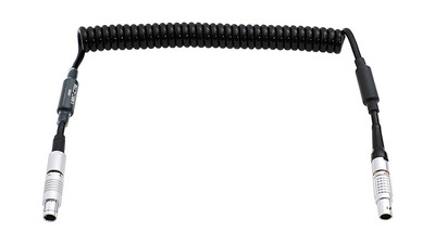 ARRI UMC/CUB-1 to Cine Tape Measure Cable - Coiled