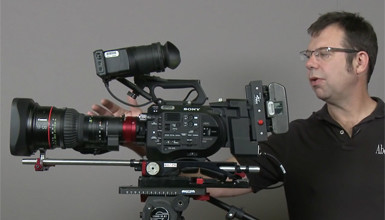 Intro image for article At the Bench: Canon Cine-Servo 17-120 Multiple Camera Configurations