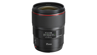 Canon 35mm II USM Wide Angle L-Series Prime f/1.4 - EF Mount