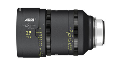 ARRI 29mm Signature Prime T1.8 - LPL Mount