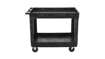 Rubbermaid Cart with Shelf