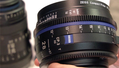 Intro image for article NAB 2018: Zeiss CP.3, CP.3 XD, and Cinema Zoom Lineup