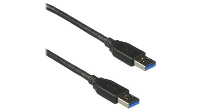 USB 3.0 A Male To A Male Cable - 6'