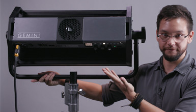 Intro image for article First Look: Litepanels Gemini LED