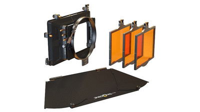 "Bright Tangerine Misfit 2-Stage Mattebox Kit #3 - 4x5.65"", 143mm Clamp-on"