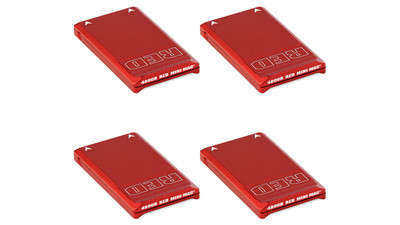RED MINI-MAG Case (4-Pack)