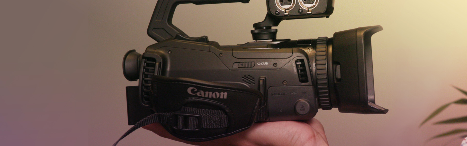 Header image for article First Look: Canon XF405