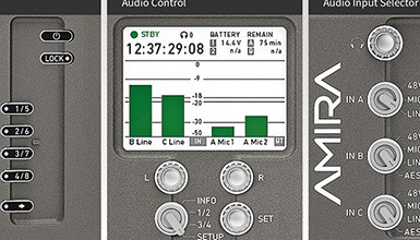 Intro image for article Ambient Audio Solutions for the Arri AMIRA Now Available at AbelCine