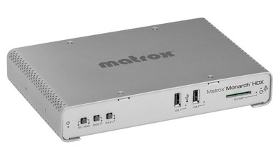 Matrox Monarch HDX Dual-Channel Broadcast H.264 Encoder