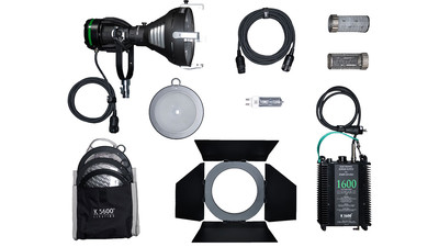 K5600 Joker2 1600W HMI Par Light Kit with Case